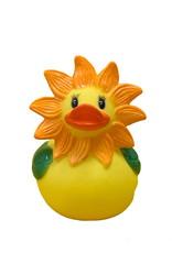 Sunflower Rubber Duck