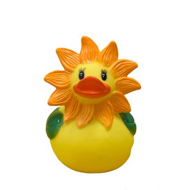 Sunflower Rubber Duck