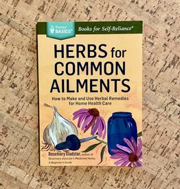 Herbs for Common Ailments: How to Make and Use Herbal Remedies for Home Health Care