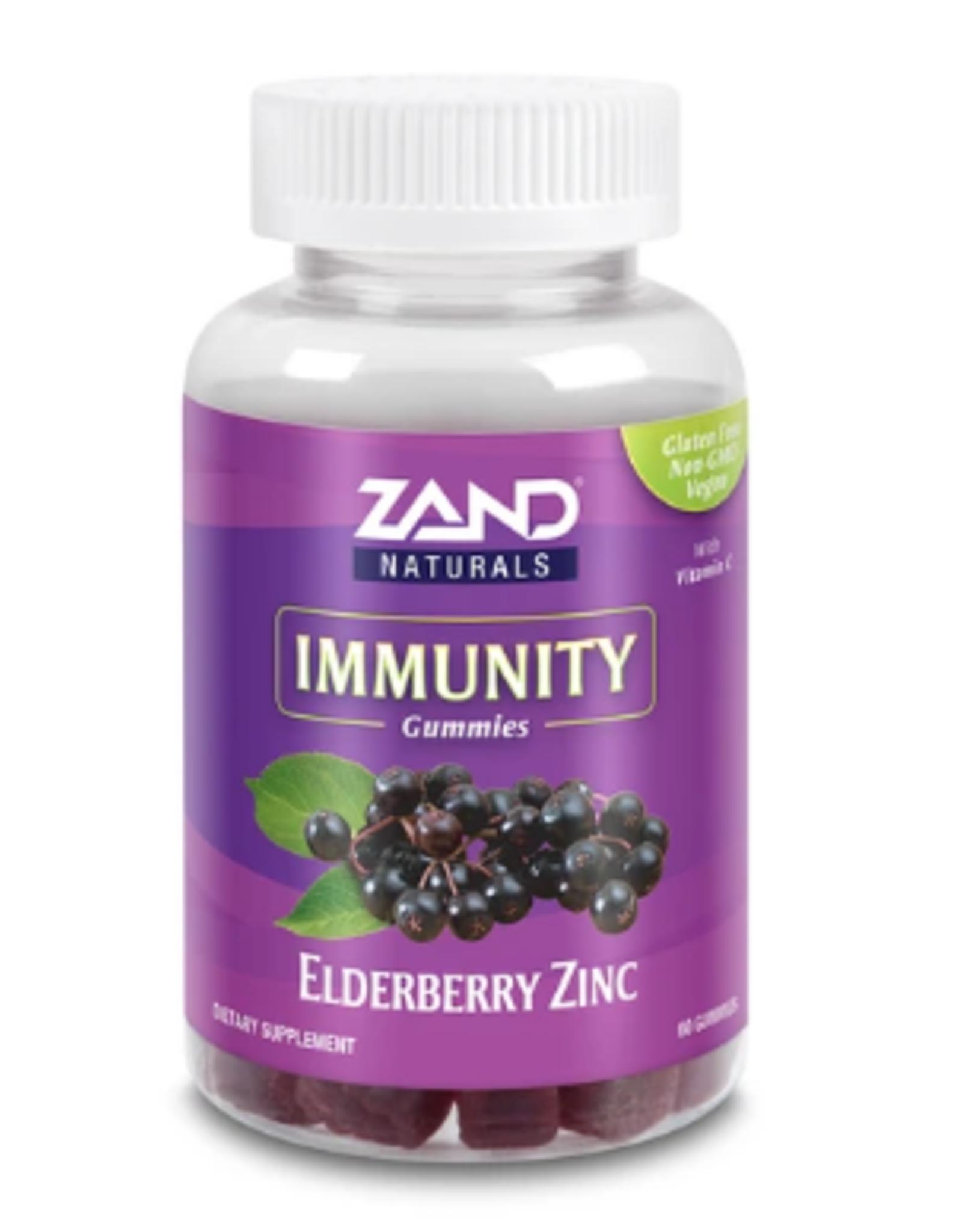 Zand Naturals Elderberry Zinc Immunity Gummies - 60