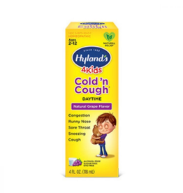 Hylands Kids Cold 'n Cough Daytime - 4  fl oz