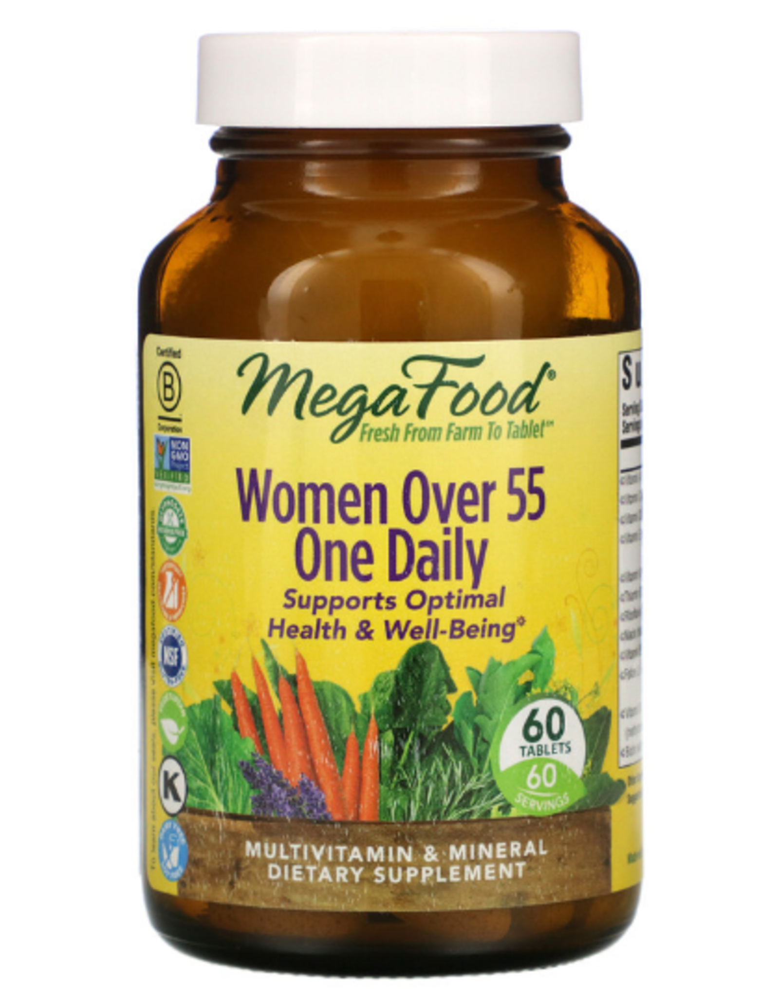 MegaFood MegaFood - Women Over 55 One Daily - 60 Tablets