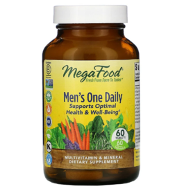 MegaFood MegaFood - Men's One Daily - 60 Tablets