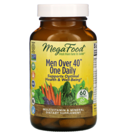 MegaFood MegaFood - Men Over 40 One Daily - 60 Tablets