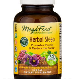 MegaFood Herbal Sleep - 30 Cap
