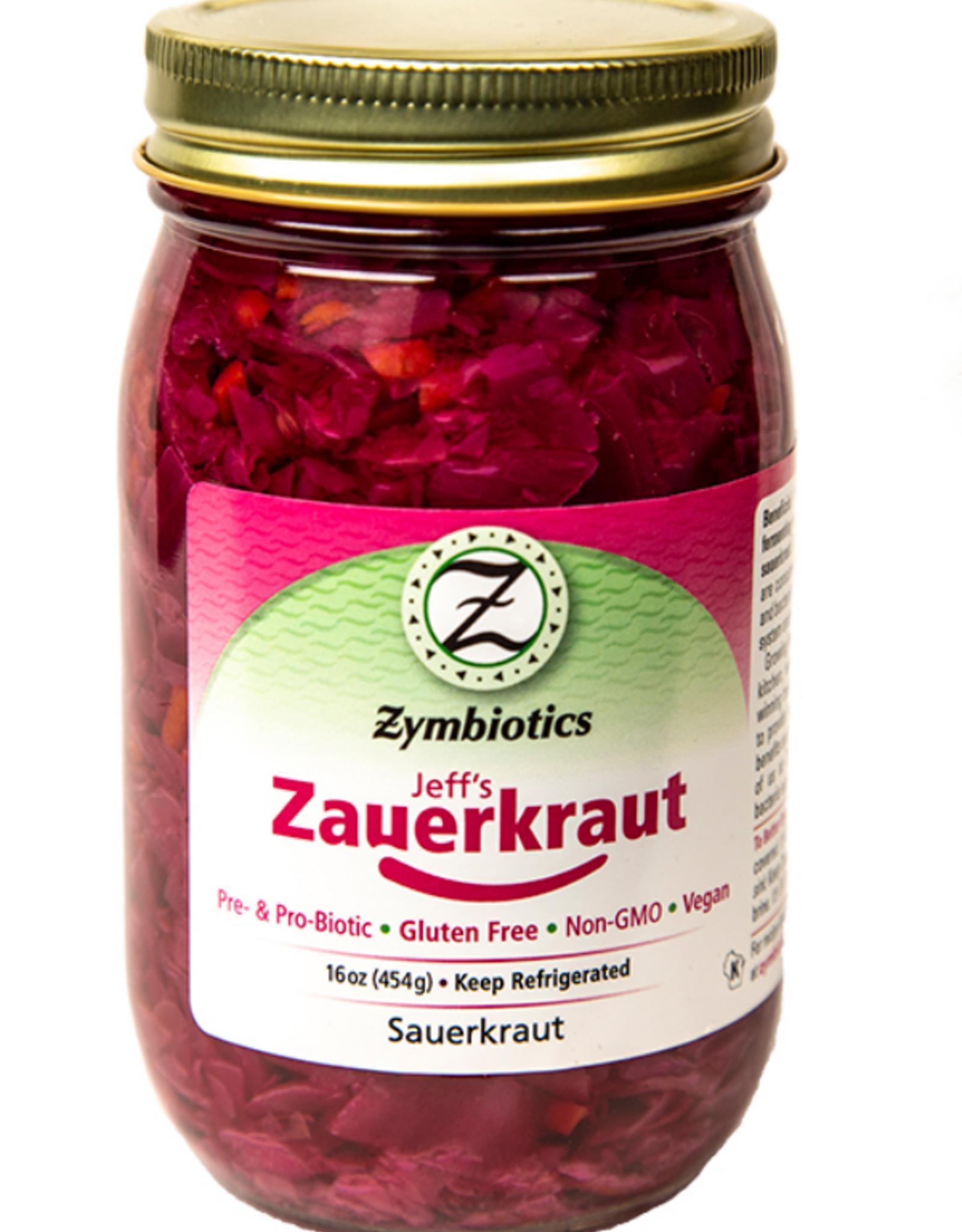 Zymbiotics Zymbiotics Jeff's Zauerkraut