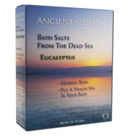 Ancient Secrets Bath Salts From the Dead Sea -- Eucalyptus