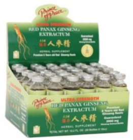 Prince of Peace Prince Of Peace Red Panax Ginseng Display 30/10ml