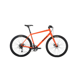 Salsa Salsa Journeyman Flat Bar Claris 650 Bike - 650b, Aluminum, Orange, Medium