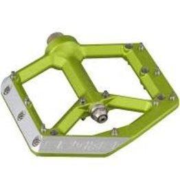 """Spank Spike Pedals - Platform, Aluminum, 9/16"""", Green"""