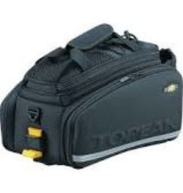 Topeak MTX TrunkBag DXP Rack Bag with Expandable Panniers: 22.6 Liter, Black