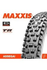 Maxxis Assegai Tire - 29 x 2.5, Tubeless, Folding, Black, Dual, EXO, Wide Trail