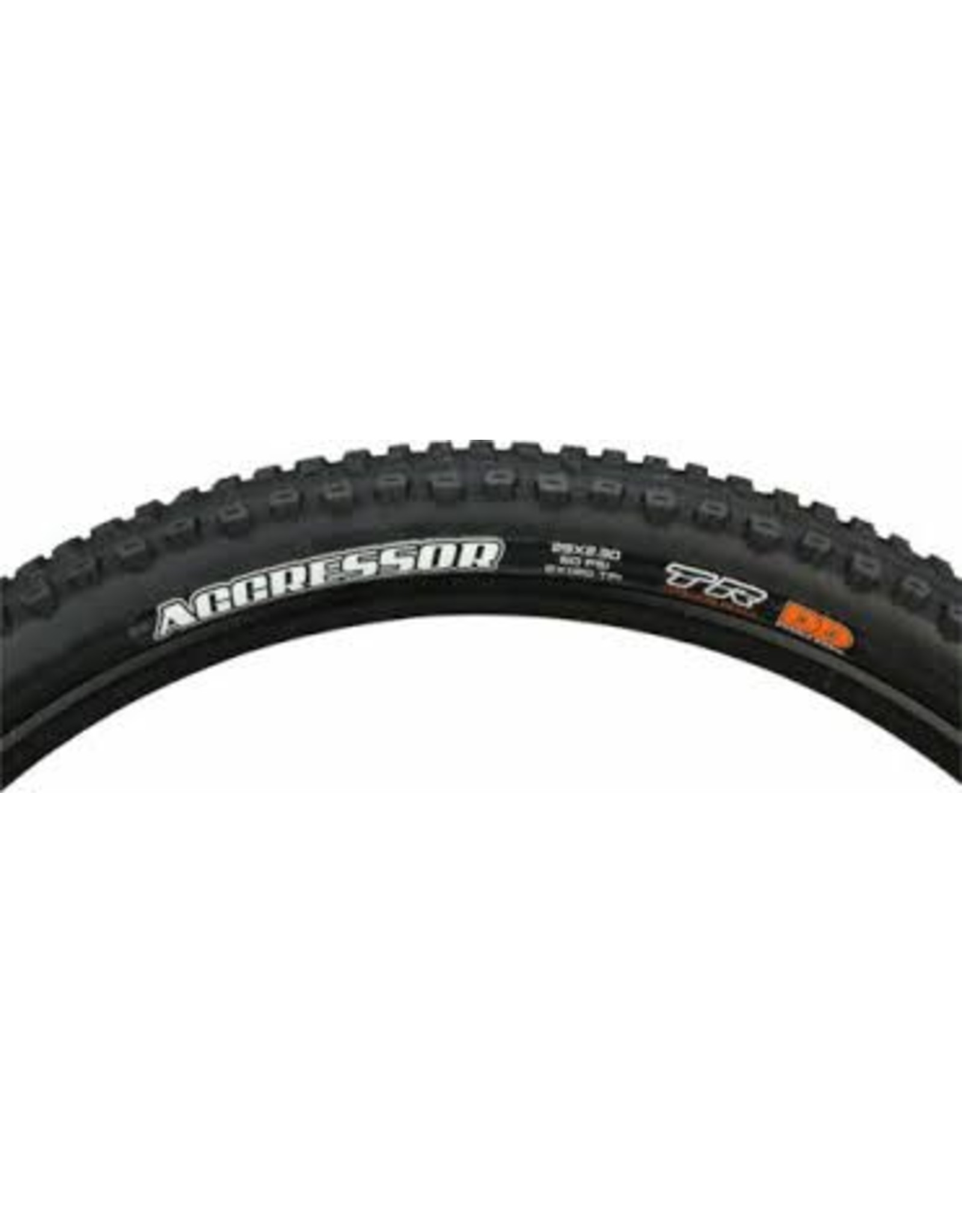 Maxxis Aggressor Tire - 29 x 2.3, Tubeless, Folding, Black, Dual, DD