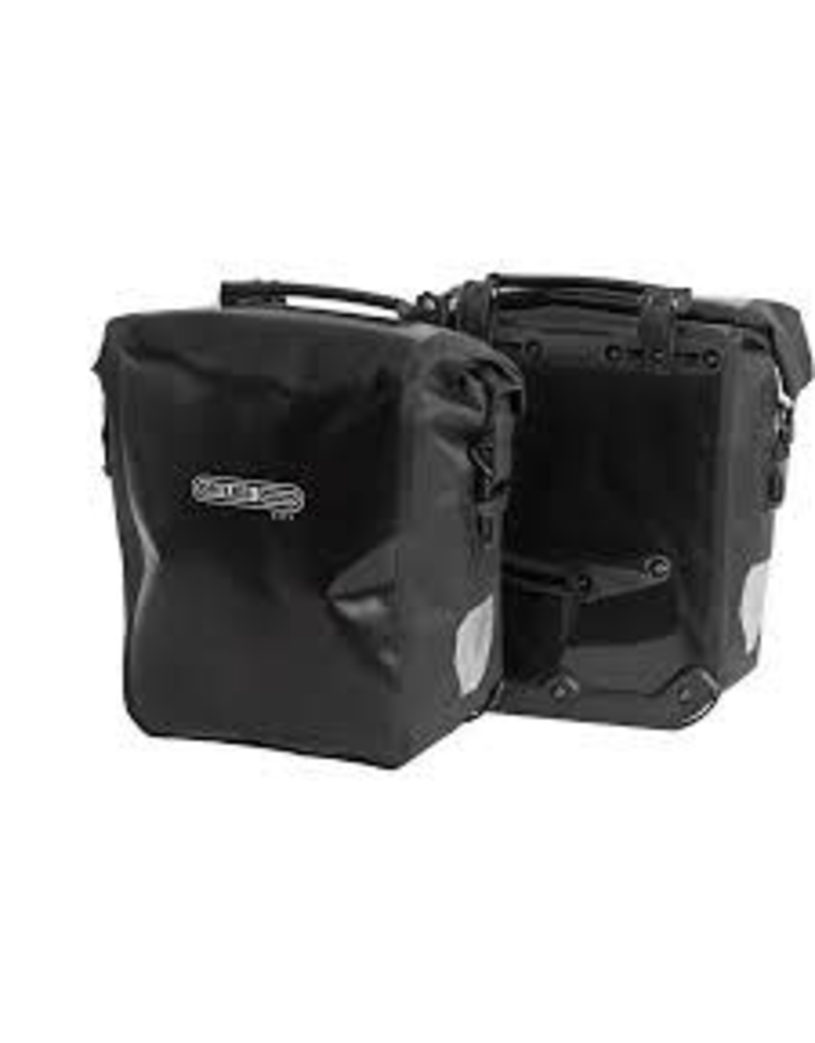 Ortlieb Front-Roller City Front Pannier: Pair~ Black