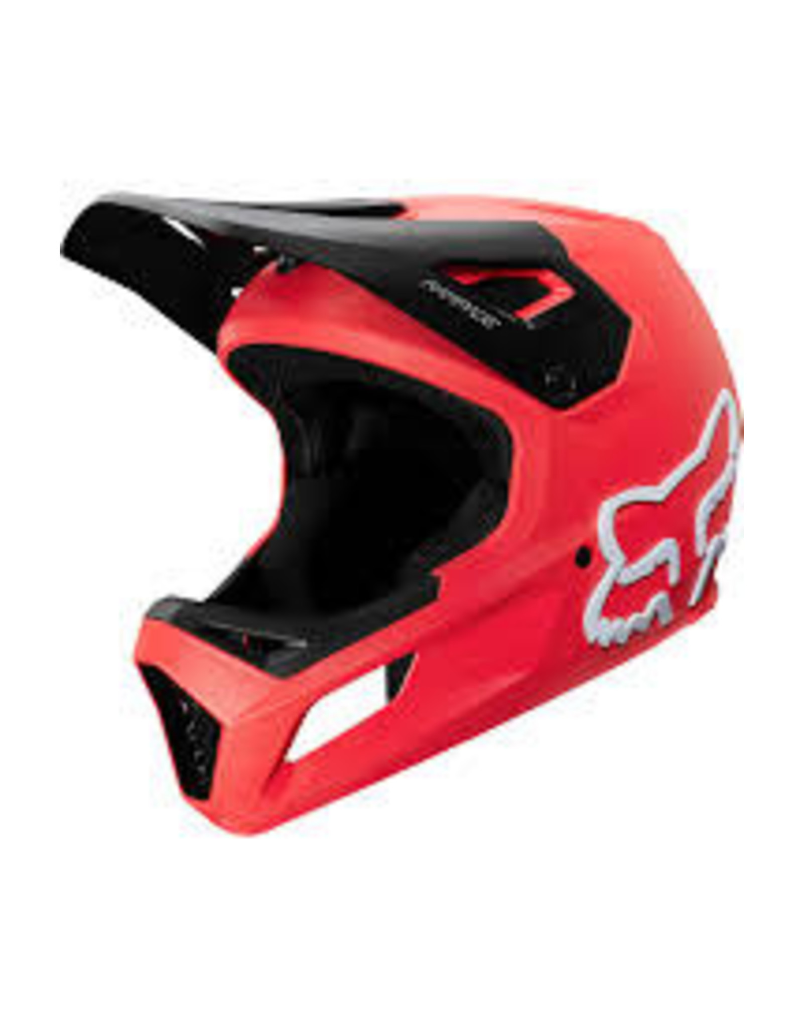 FOX YTH RAMPAGE HELMET  Bright Red YS