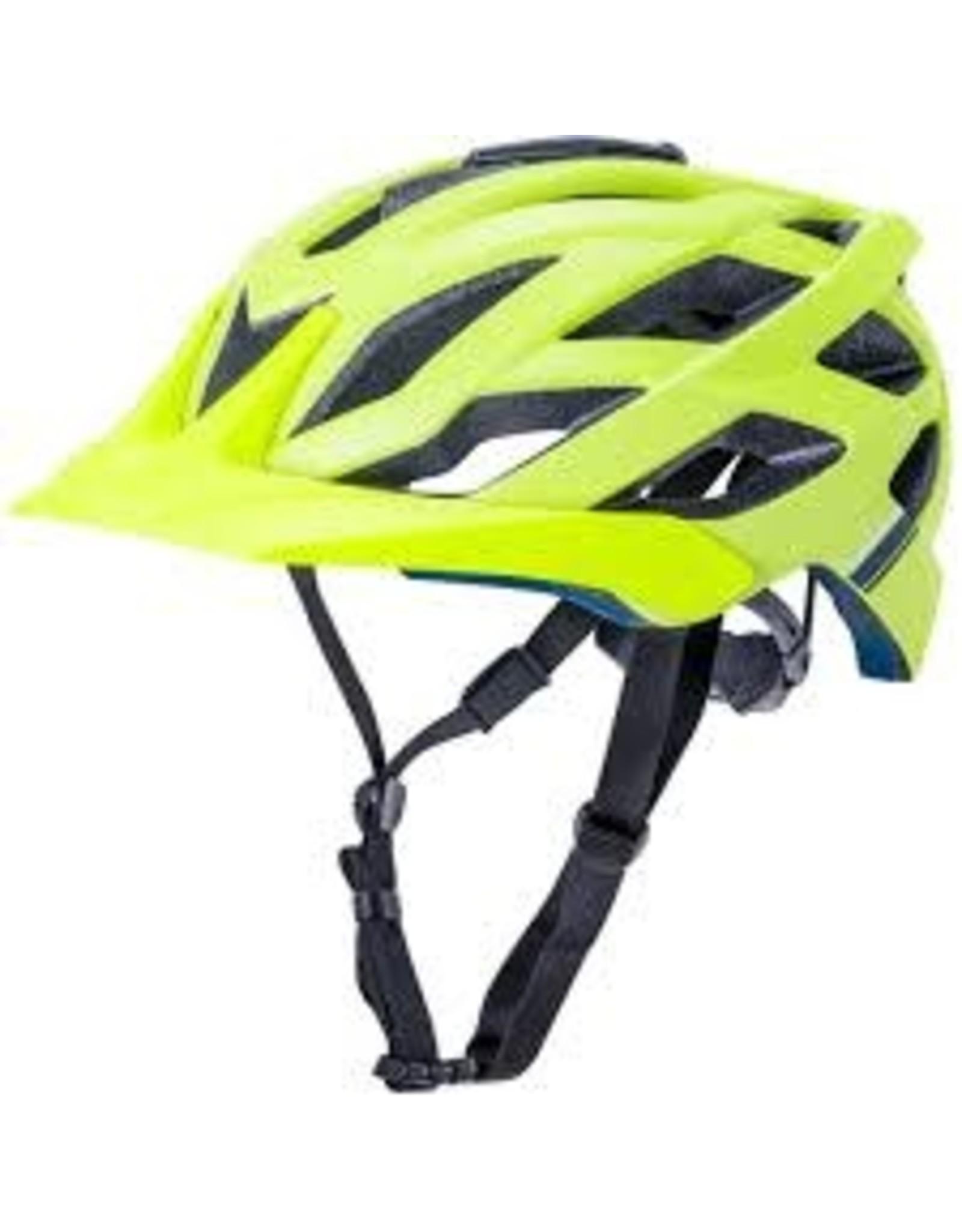 Kali Lunati Enduro Helmet, Fluo Ylw - Small/Medium