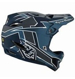 Troy Lee Designs TROY LEE DESIGNS D4 COMPOSITE HELMET; GRAPH MARINE LG