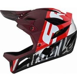 Troy Lee Designs TROY LEE DESIGNS STAGE HELMET; NOVA SRAM BURGUNDY MD/LG