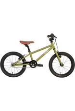 """Cleary Bikes Cleary Bikes Hedgehog 16"""" Single Speed - Desert Green/Cream"""