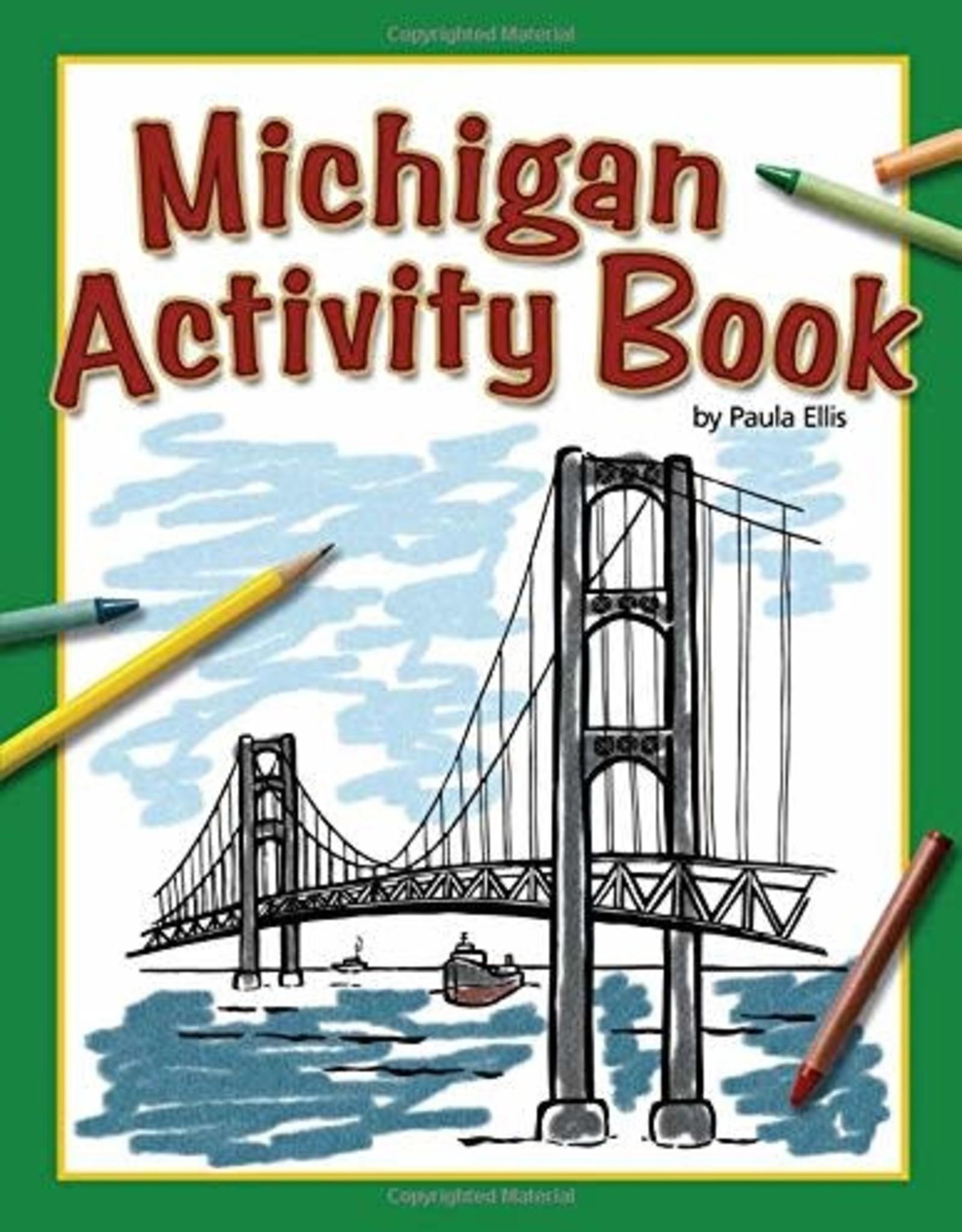 Activity Book Michigan
