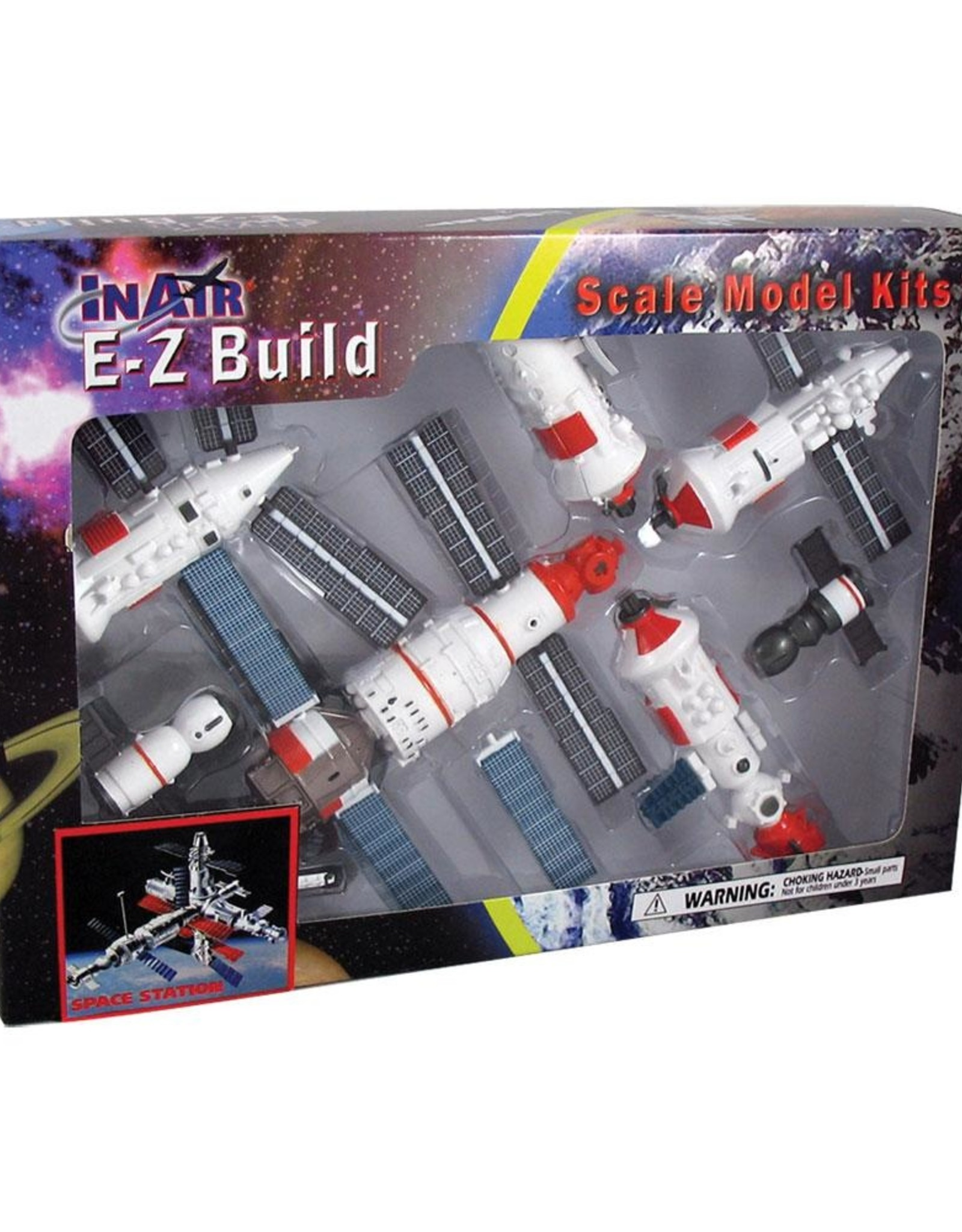 E-Z Build Space Station Model Kit