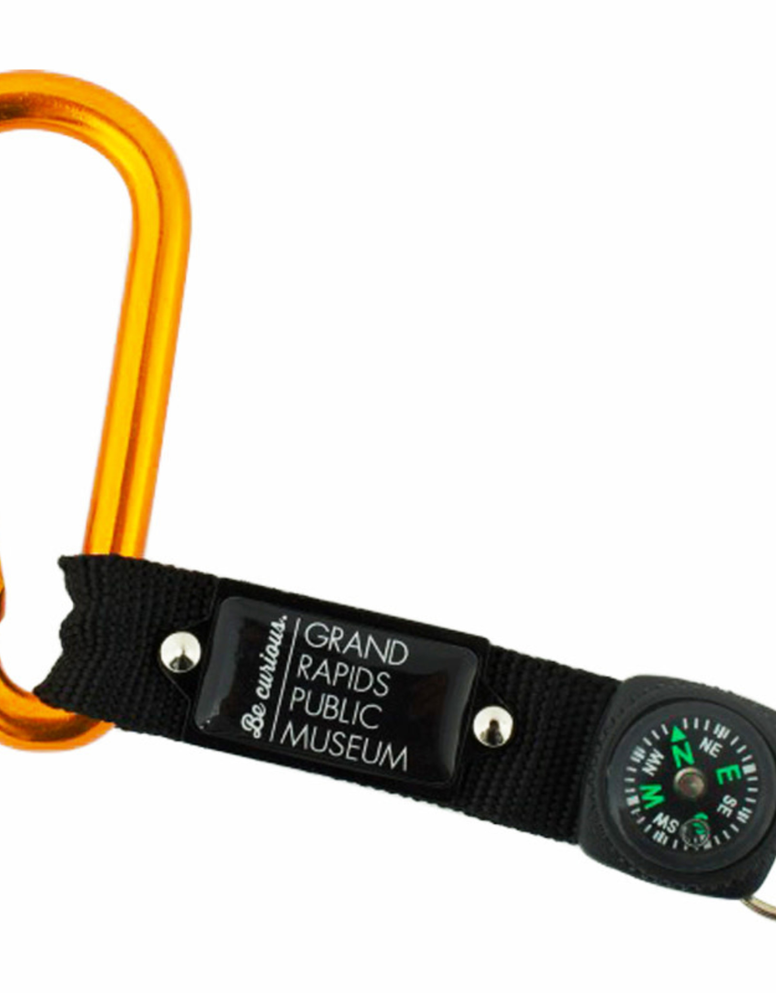 GRPM GRPM carabiner clip with compass