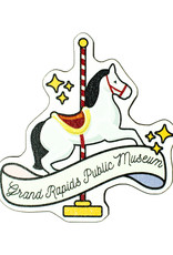 GRPM Carousel Horse Wood Magnet