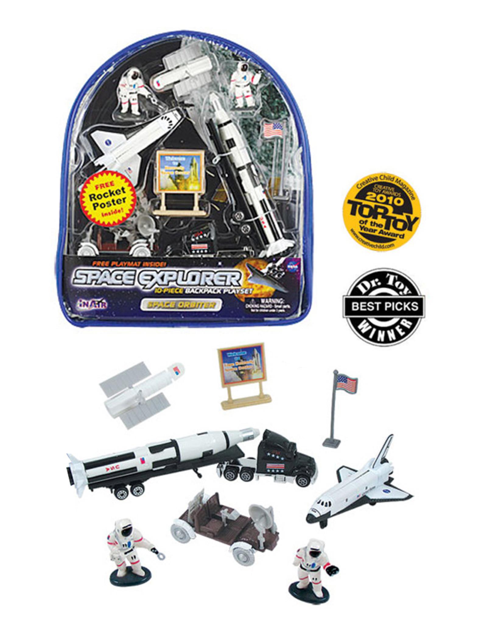 Space Explorer Backpack Set - Space Orbiter
