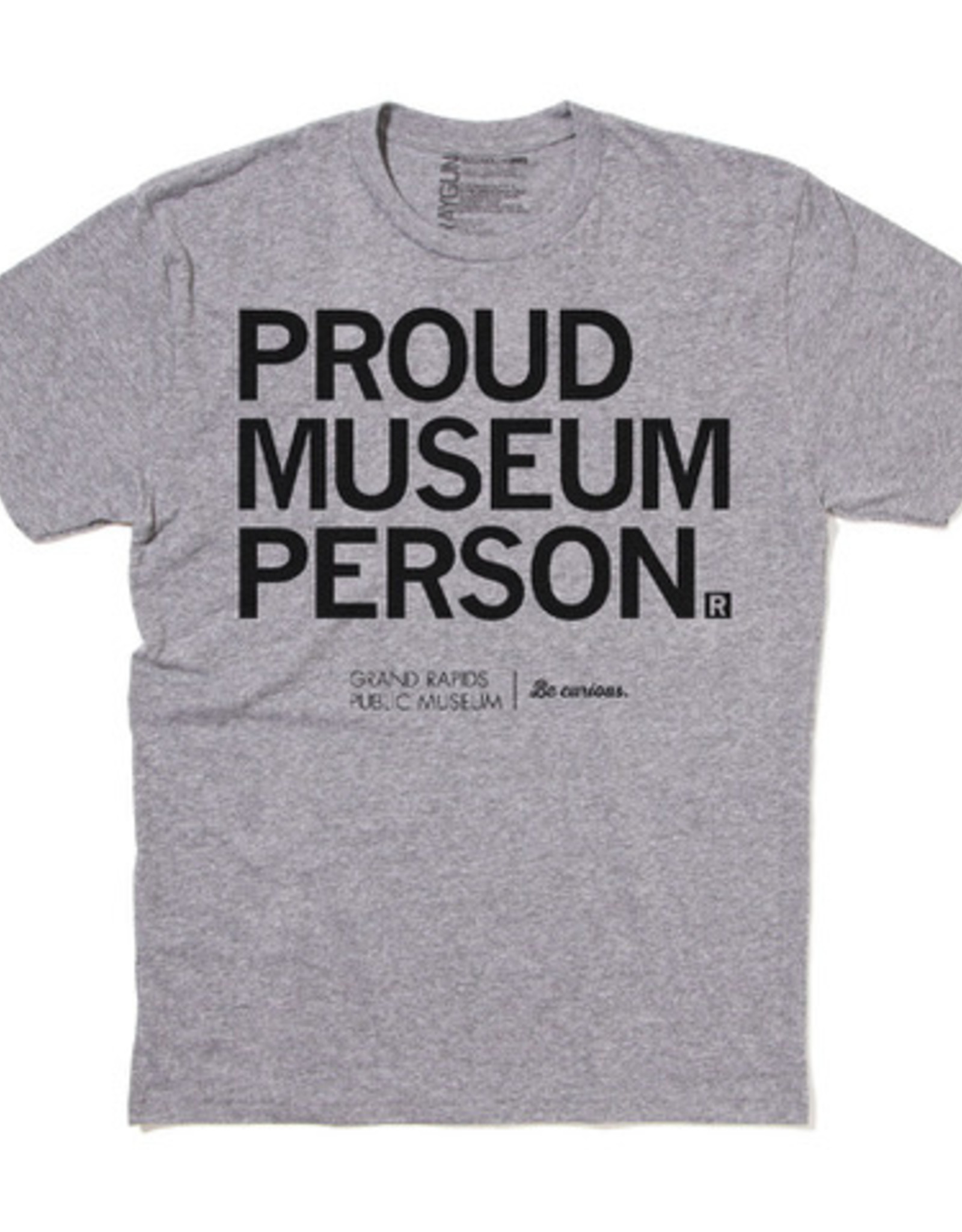 Proud Museum Person