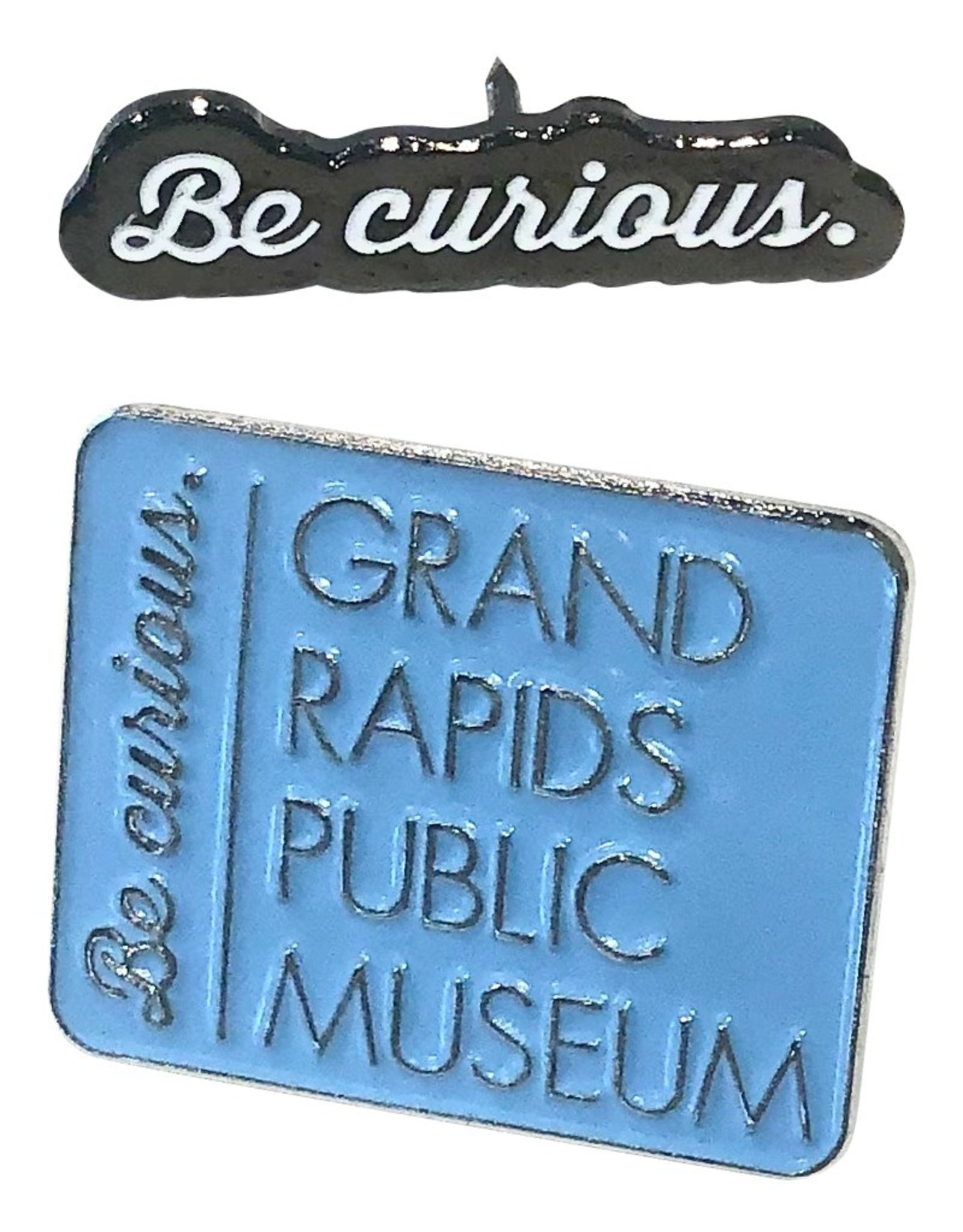 GRPM Be Curious Enamel Pin
