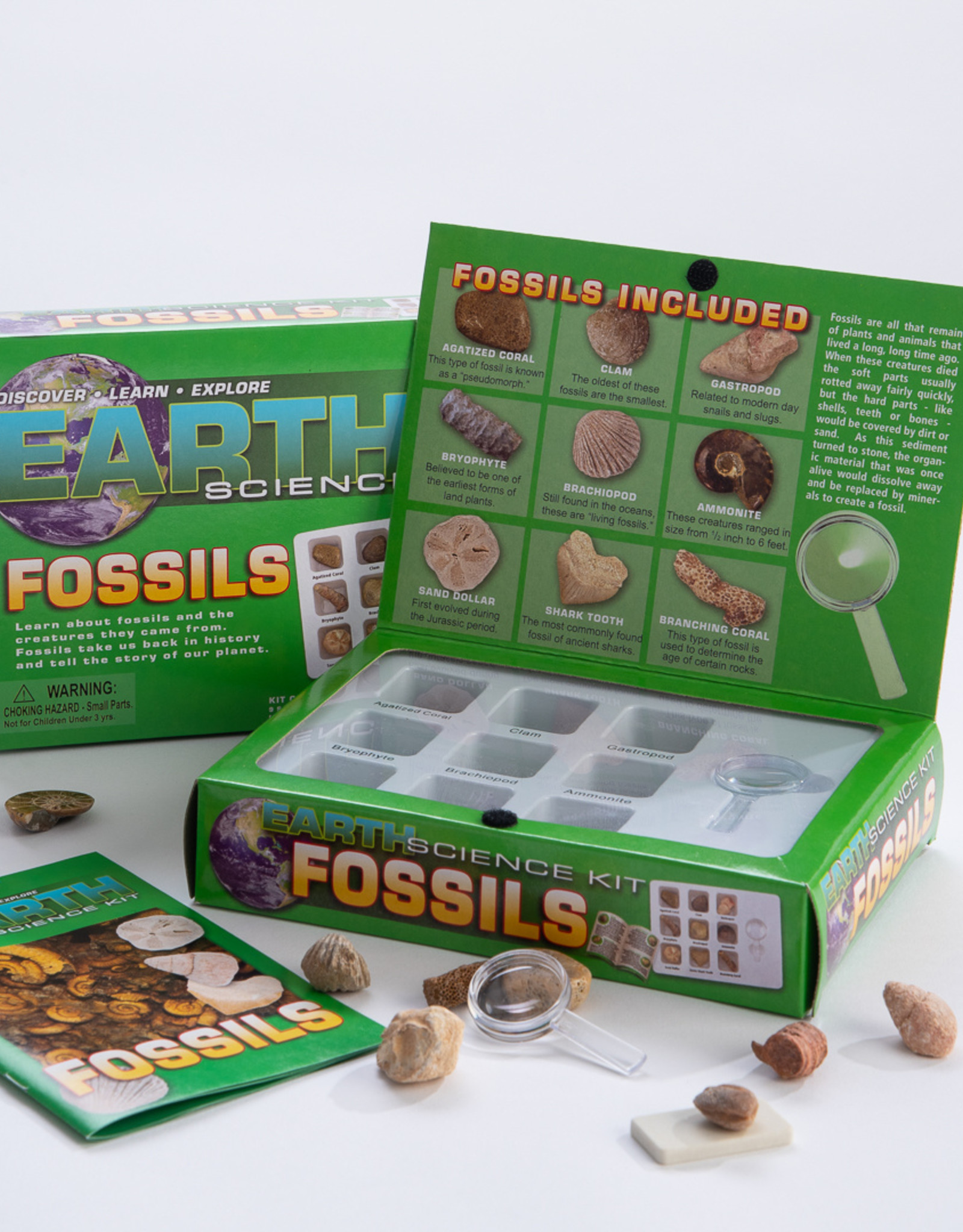 Fossils Earth Science Kit