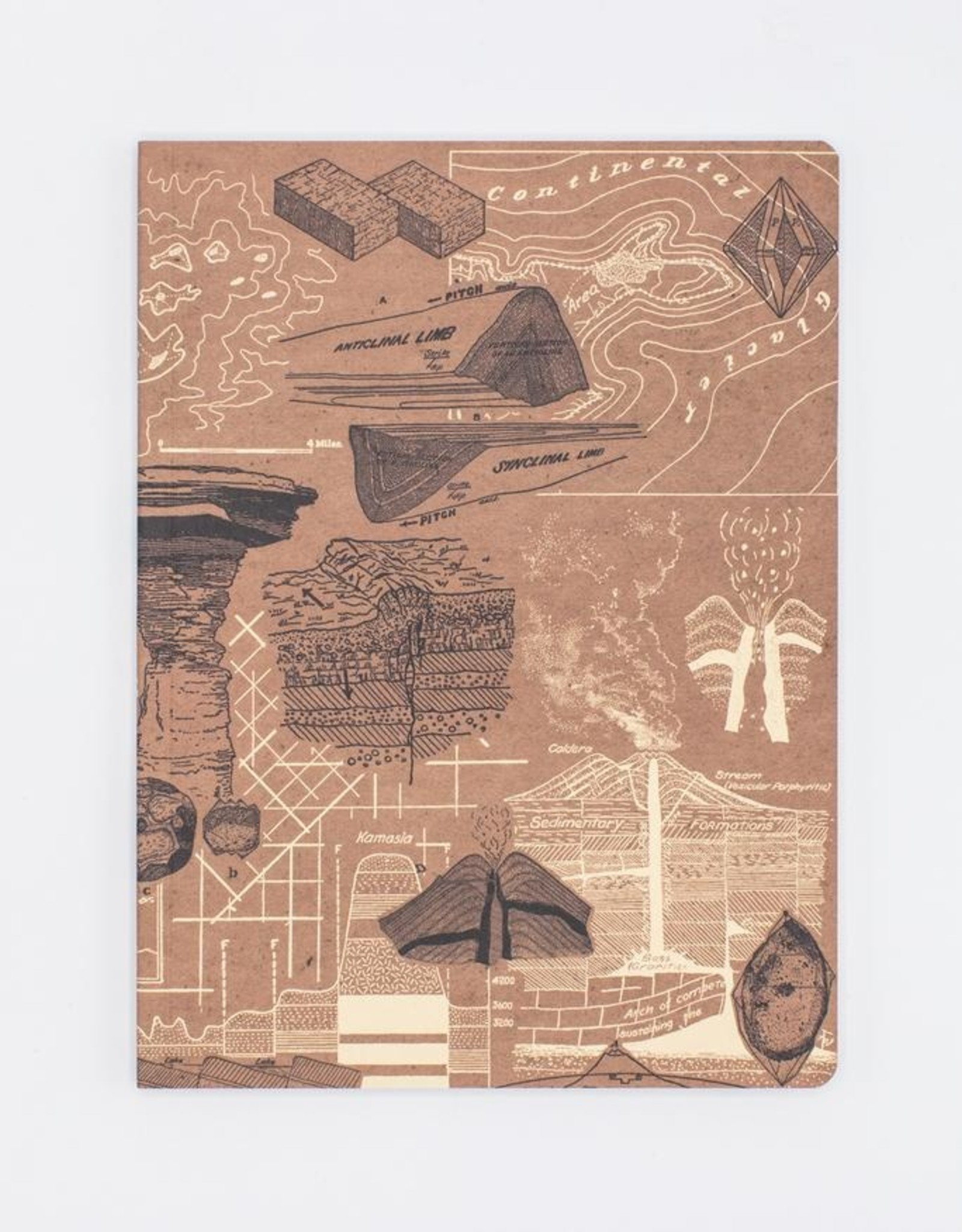 Geology Softcover Notebook