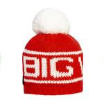 Big White Big Pom Ruby