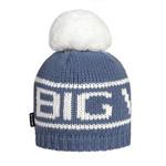 Big White Big Pom Denim Blue