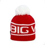 Big White Big Pom Red