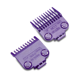 Andis Andis Double Magnetic Comb Set Purple Guides #0 & #1 ML