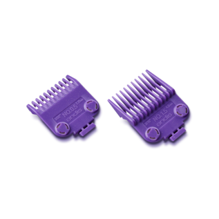 Andis Andis Double Magnetic Comb Set Purple Guides #1/2 & #1-1/2 ML