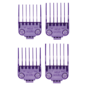 Andis Andis Double Magnetic Comb Set Purple Guides #5-8 ML