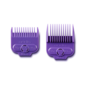 Andis Andis Single Magnetic Comb Set Purple Guides #1/2 & #1-1/2 ML