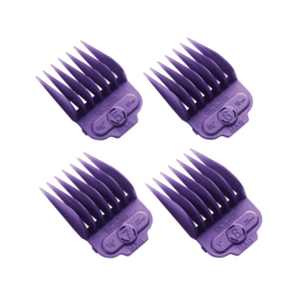 Andis Andis Single Magnetic Comb Set Purple Guides #5-8 ML