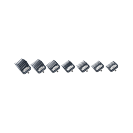 Andis Andis 7pc Master Premium Metal Clip Comb Set Guides #0-8 ML