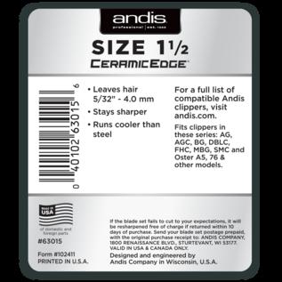 Andis Andis CeramicEdge Detachable Clipper Blade Size 1-1/2 [1.5]