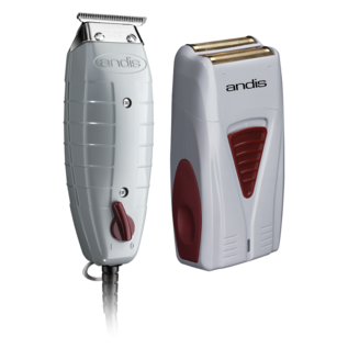 Andis Andis Finishing Combo T-Outliner Corded Trimmer & Profoil Cordless Shaver GTO/TS-1