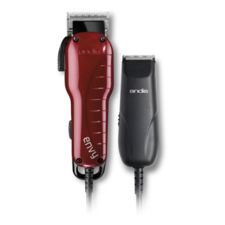 Andis Andis Envy Combo Adjustable Blade Corded Clipper & Trimmer w/ Guides US-1/TC-2