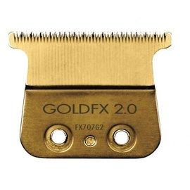 BabylissPRO BabylissPRO FX707G2 GoldFX 2.0mm Deep Tooth Outliner Trimmer T-Blade Fits FX787
