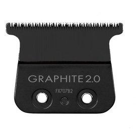 BabylissPRO BabylissPRO FX707B2 Graphite 2.0mm Deep Tooth Outliner Trimmer T-Blade Fits FX787