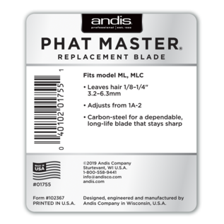 Andis Andis Phat Master Blade ML