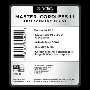 Andis Andis Master Cordless Li Blade MLC