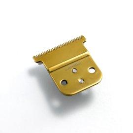 Carmic Carmic D-8 Gold Titanium T-Blade w/ Ceramic Cutter Fits D-7/D-8 Andis Slimline Trimmer