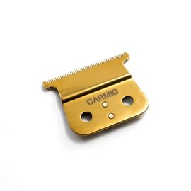 Carmic Carmic T-Out Gold Titanium T-Blade w/ Ceramic Cutter Fits GTO, GTX Andis T-Outliner Trimmer